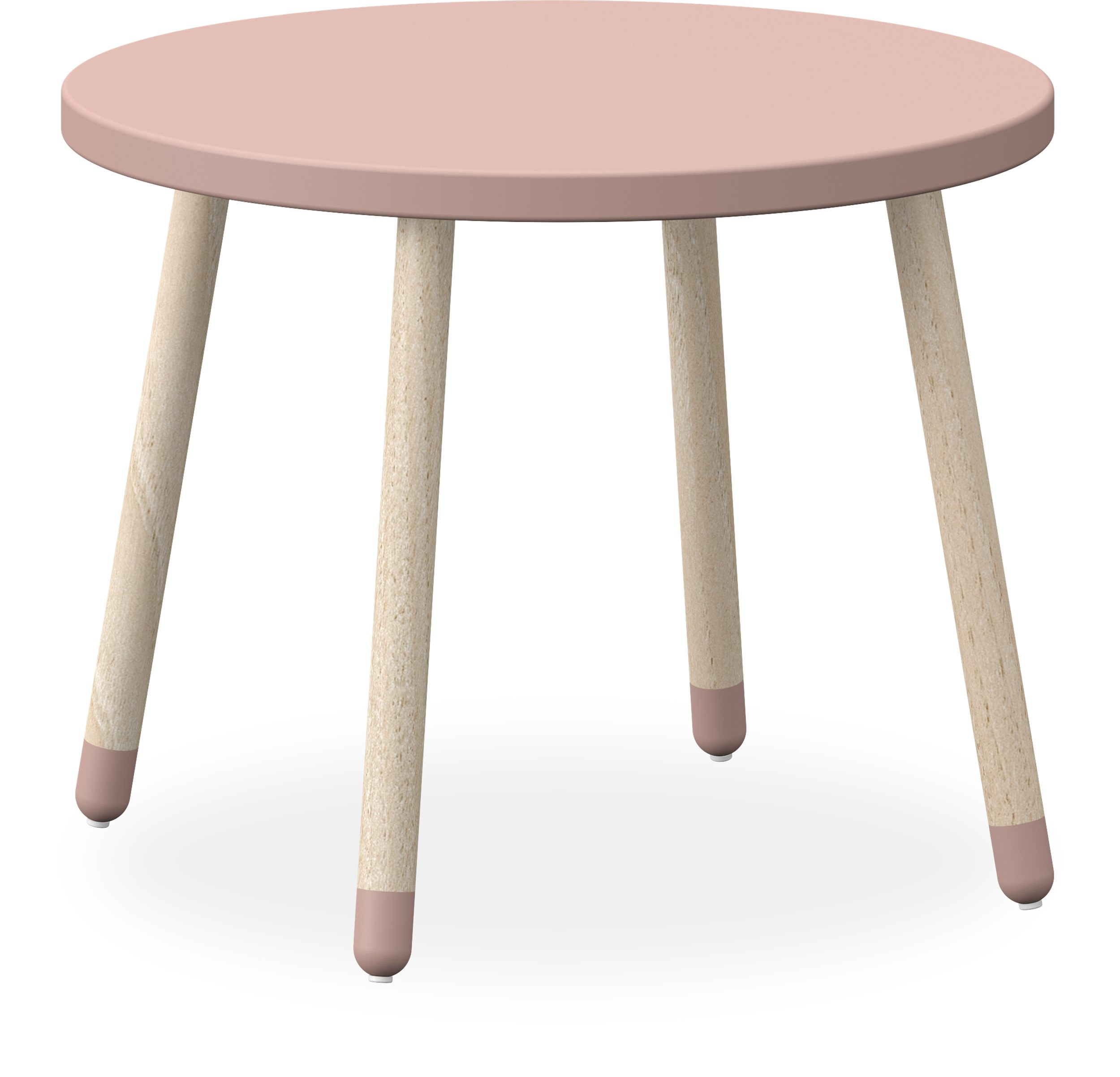 Flexa Dots Barnbord - Light Rose MDF och ben i massiv ask