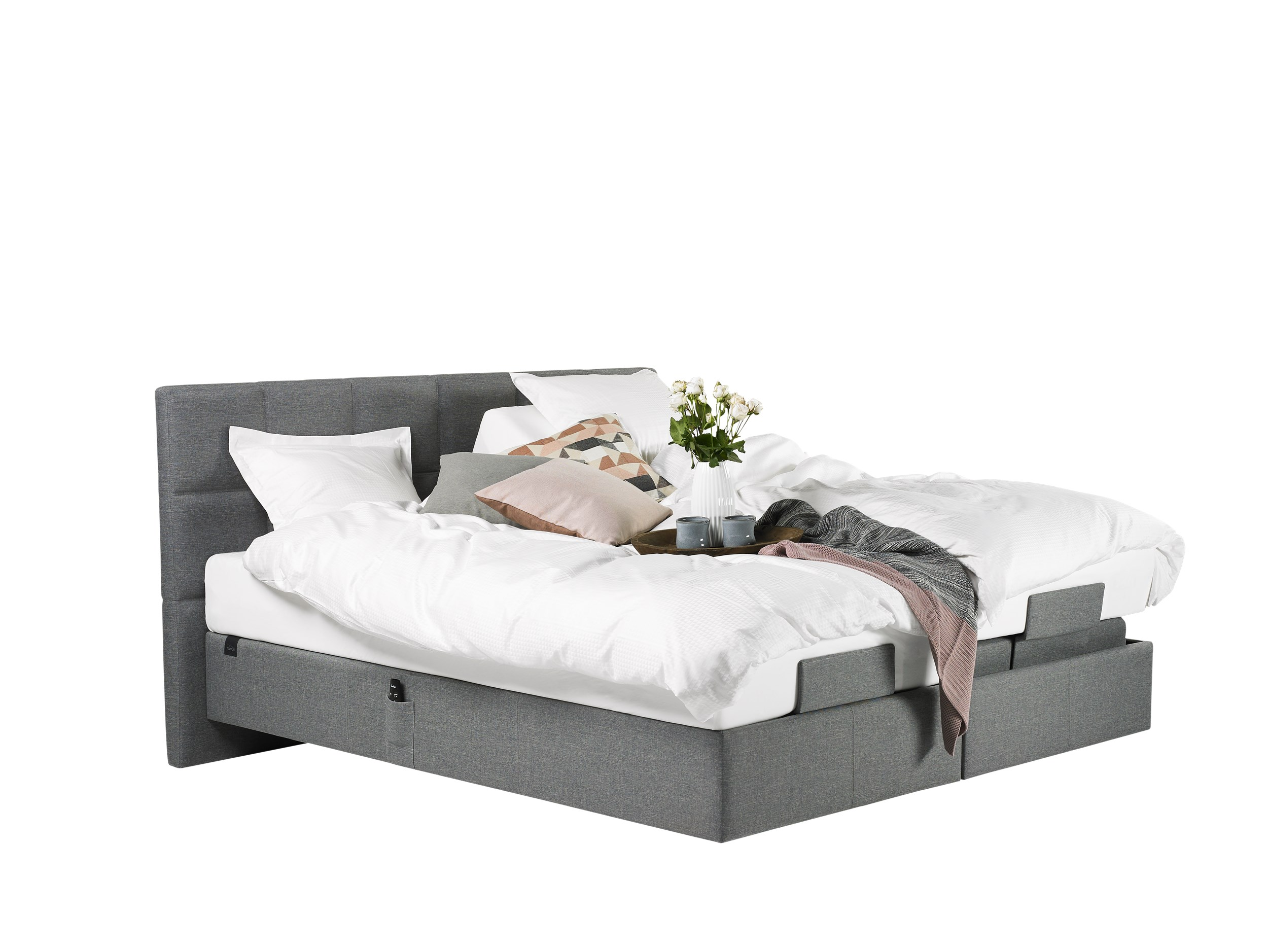 Tempur Spring Box Adjustable ställbar säng 180 x 200 cm