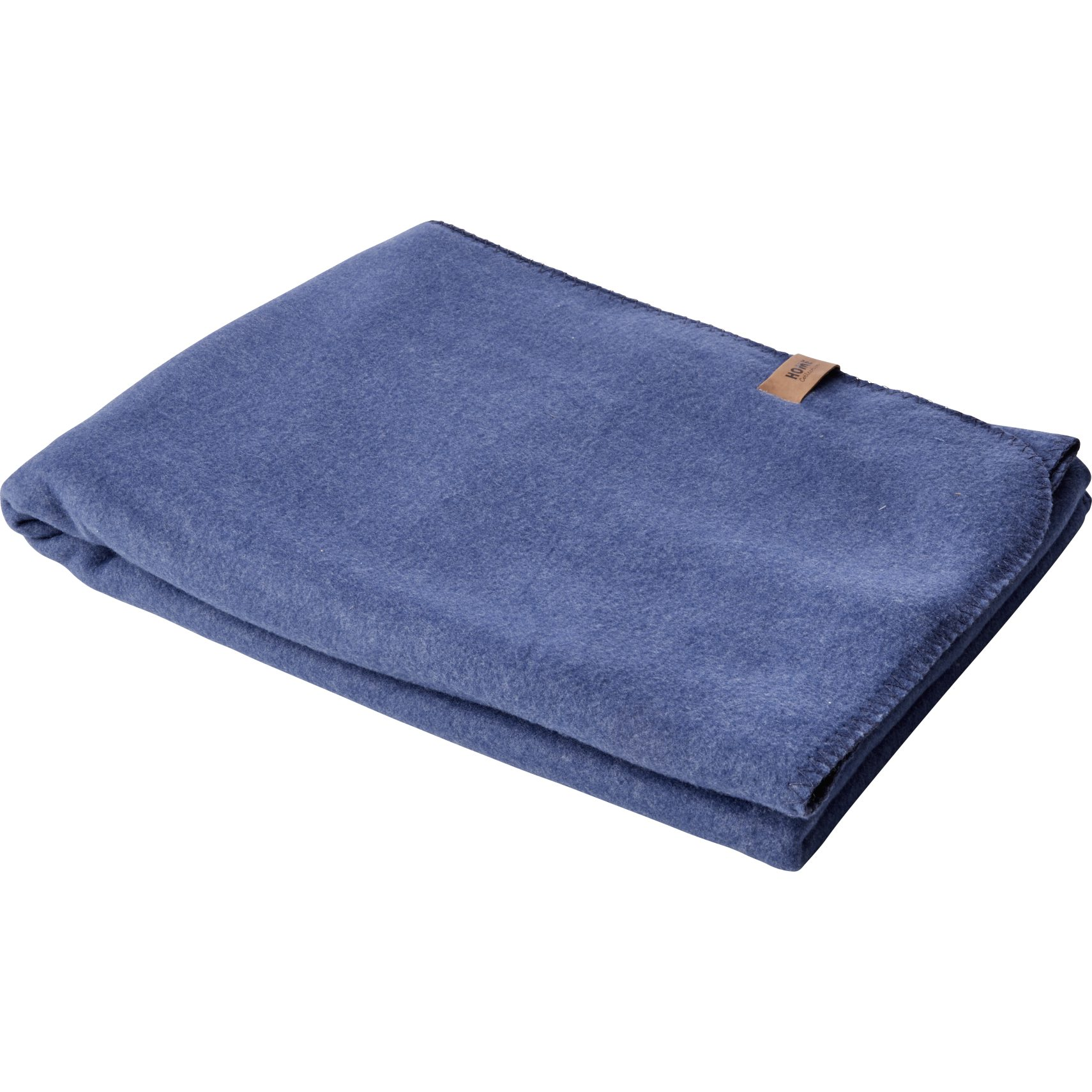 Fleece Pläd - Blue indigo polyester