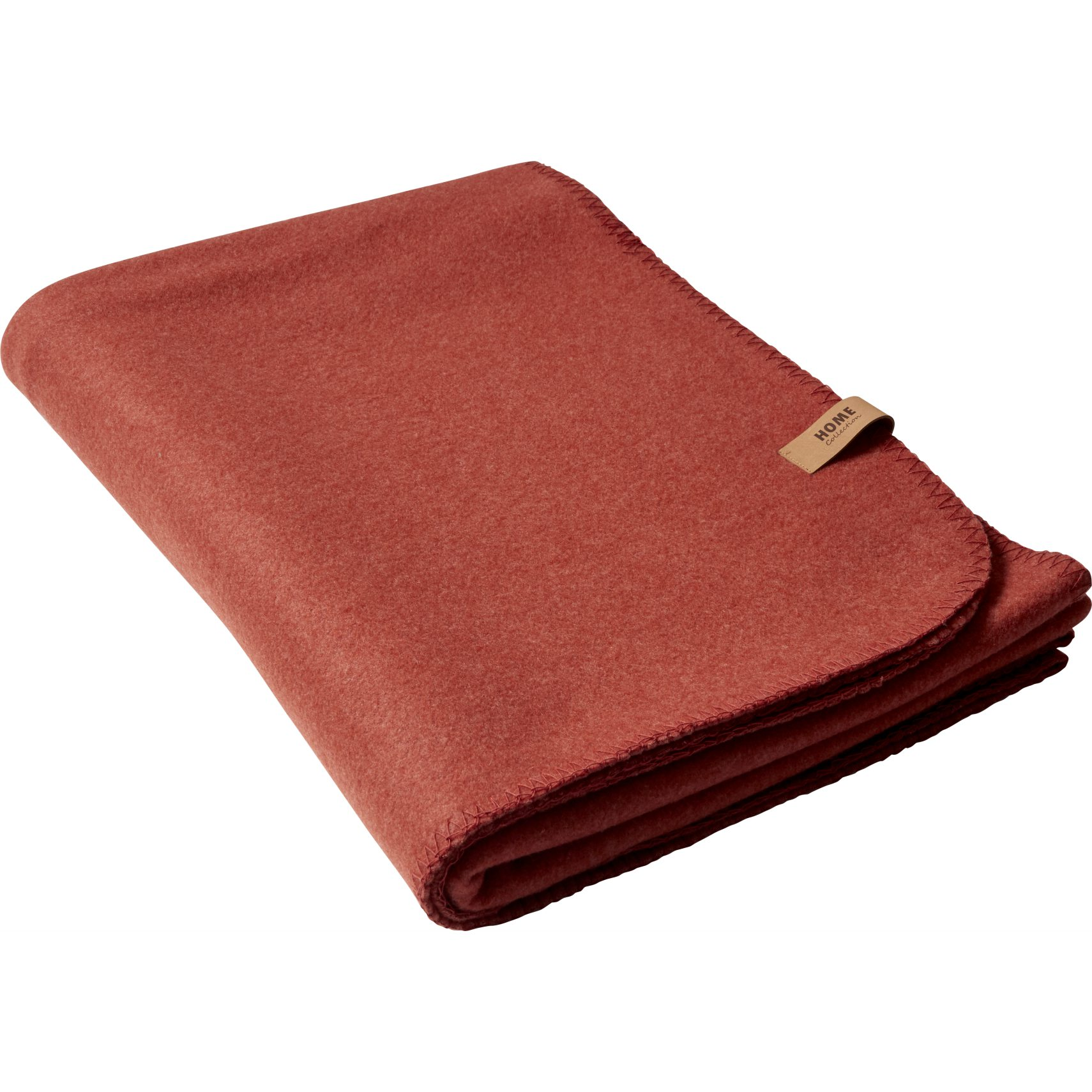 Fleece Pläd - Barn red polyester/viskos