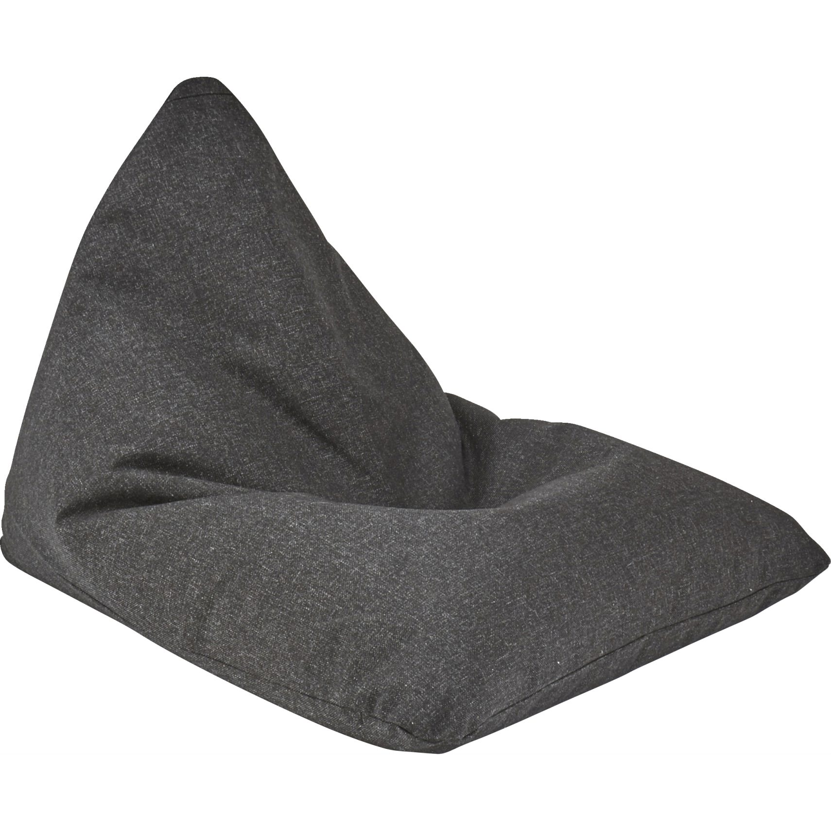 Innovation Living - Soft Peak Sittsäck - Twist 564 Black och EPS-kulor