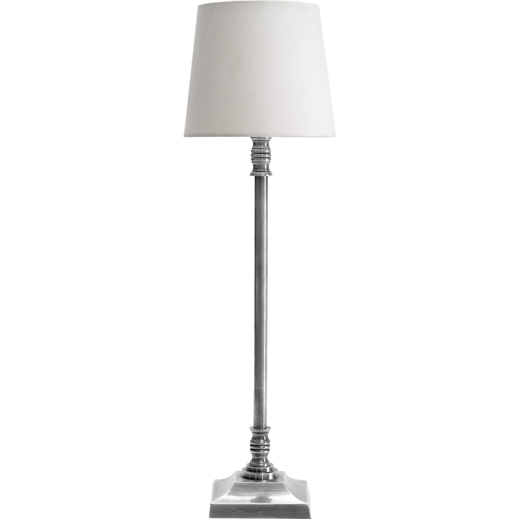 Bercy Bordslampa 35 cm - Antik metall med silverlook