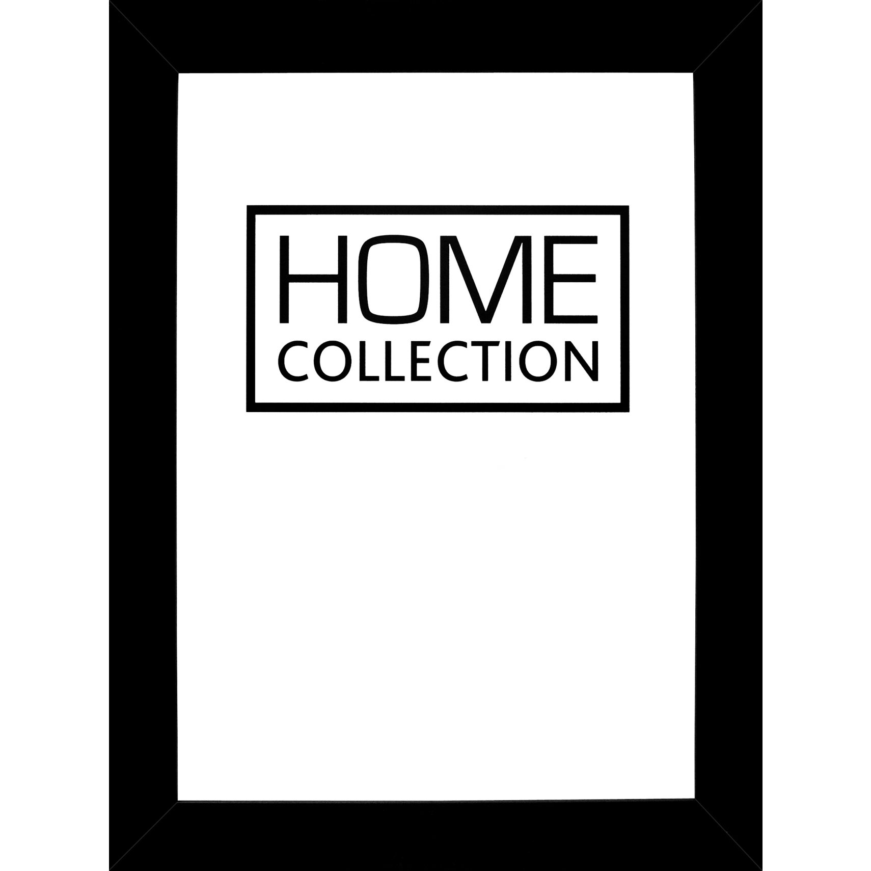 HOME COLLECTION Ram 21 x 30 x 1 cm - Svart träram