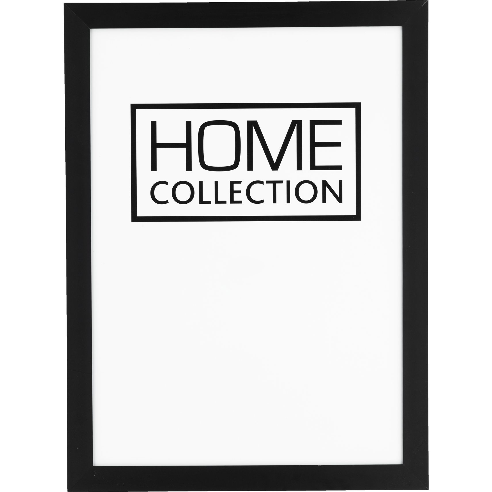 HOME COLLECTION Ram 50 x 70 x 2 cm - Svart träram