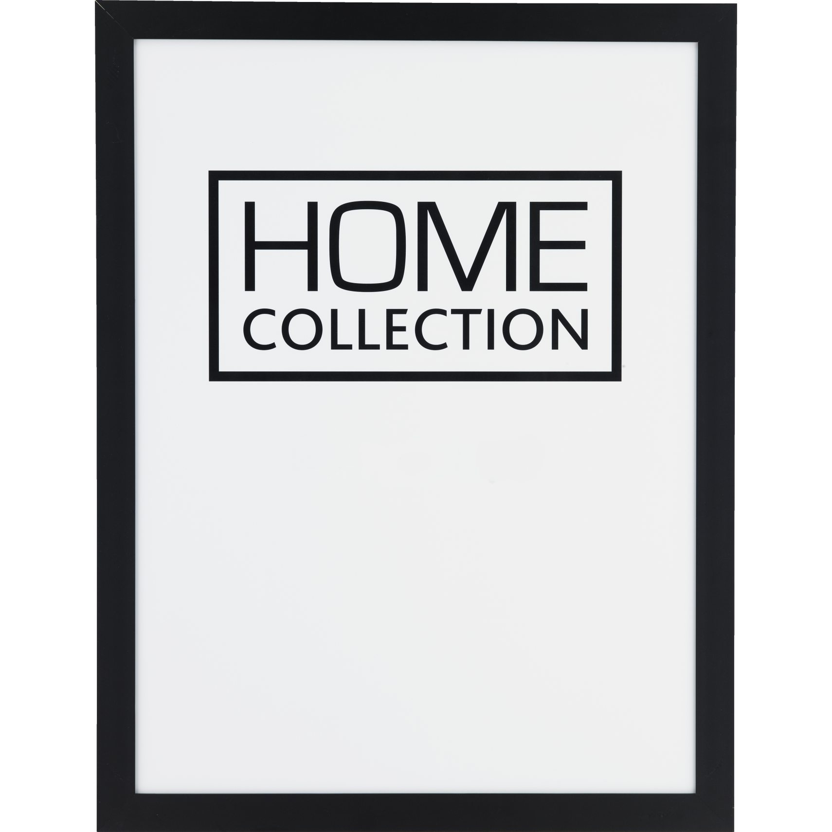 HOME COLLECTION Ram 60 x 80 x 2 cm - Svart träram