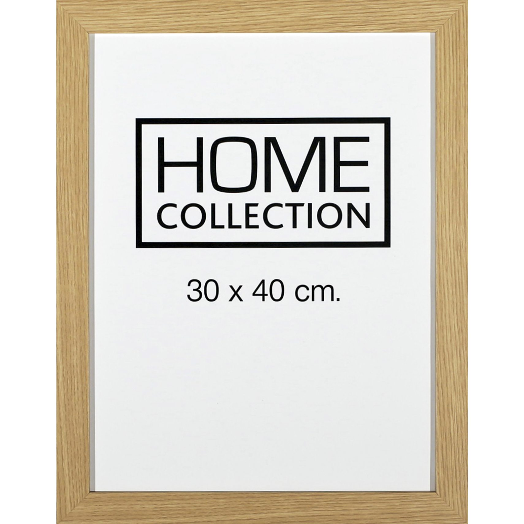 HOME COLLECTION Ram 30 x 40 x 2 cm - Ram i ekträ