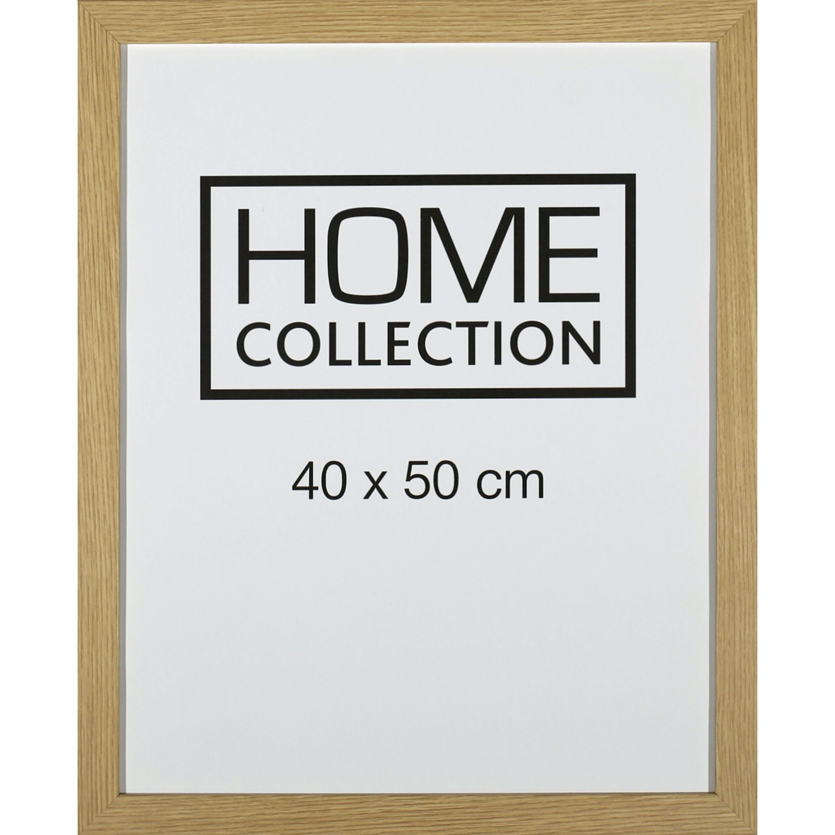 HOME COLLECTION Ram 40 x 50 x 2 cm - Ram i ekträ
