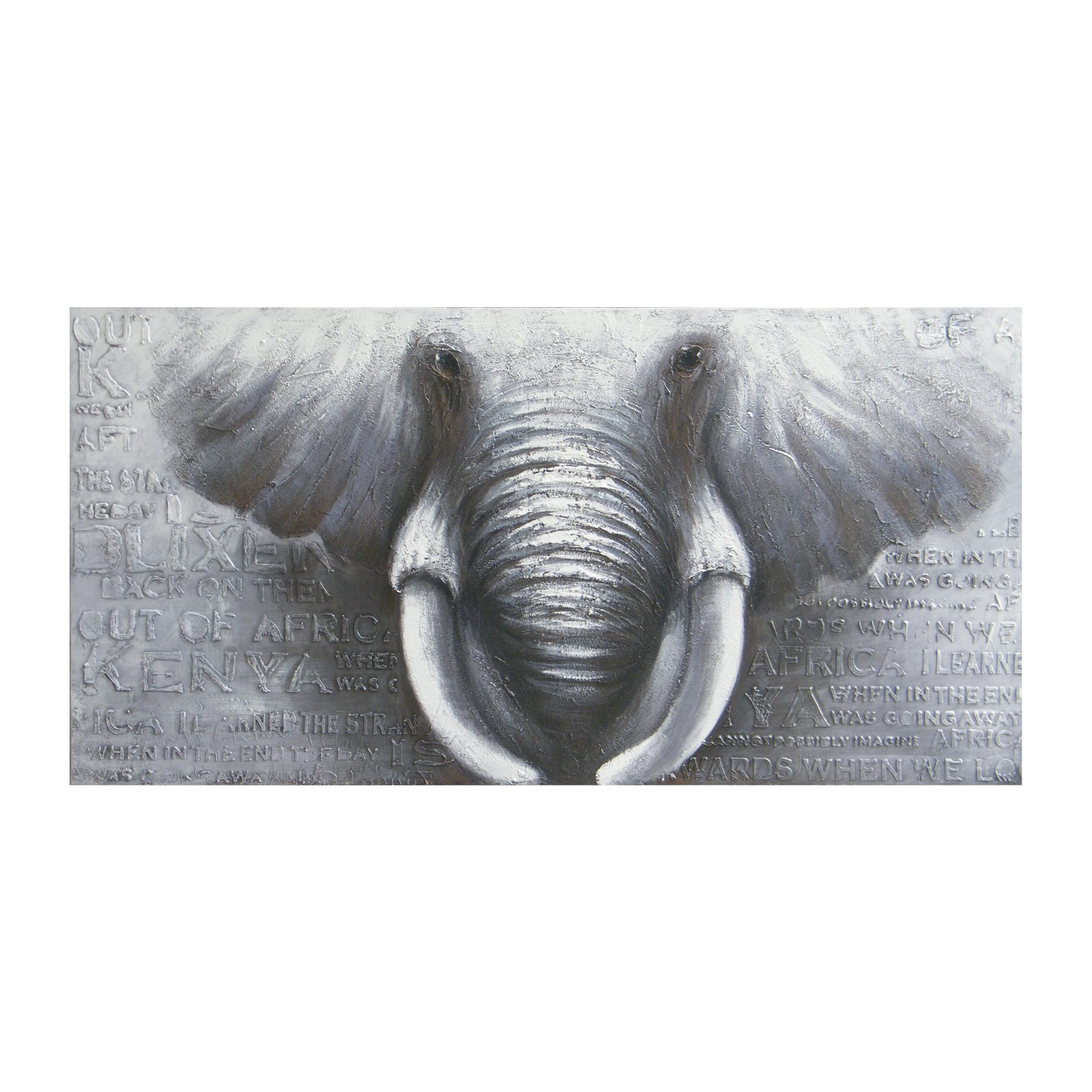 GREAT BULL Canvastavla 160 x 80 x 4 cm -