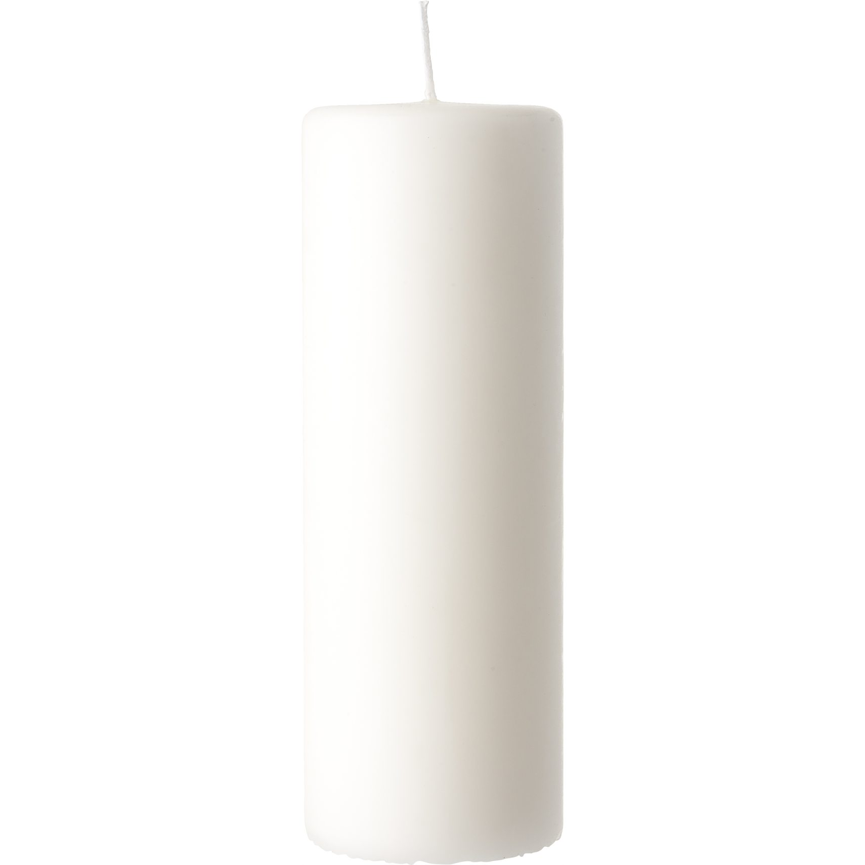 Candle Blockljus 20 x 7 cm 20 x 7 cm - Off-white paraffin